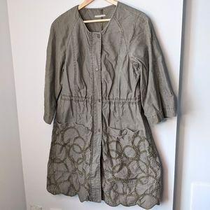 Hei Hei Anthropologie utility jacket size small